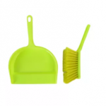 dustpan-with-brush- Green